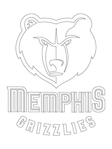 Chicago Bulls Logo coloring page - Free Printable Coloring Pages