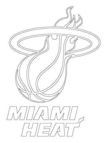 San Antonio Spurs Logo coloring page - Free Printable Coloring Pages