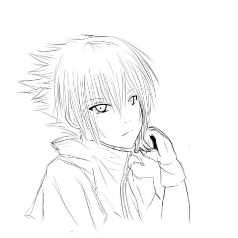 Noctis Lucis Caelum coloring page