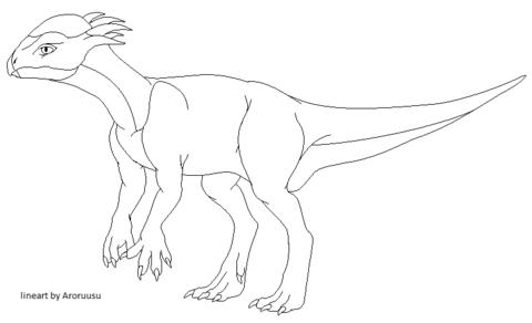 stegoceras fighting coloring page stegoceras dinosaur coloring page