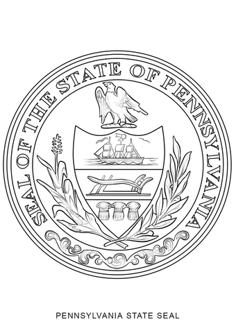 Pennsylvania State Flower coloring page Free Printable Coloring