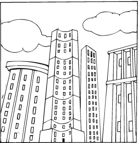 Penthouses  coloring page
