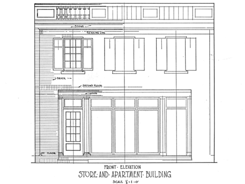 Plan Of The Apartment House coloring page - Free Printable Coloring ...