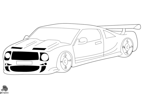 Audi A4 Coloring Page Free Printable Coloring Pages