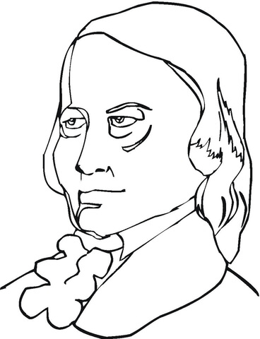 giuseppe verdi coloring page robert schumann coloring page