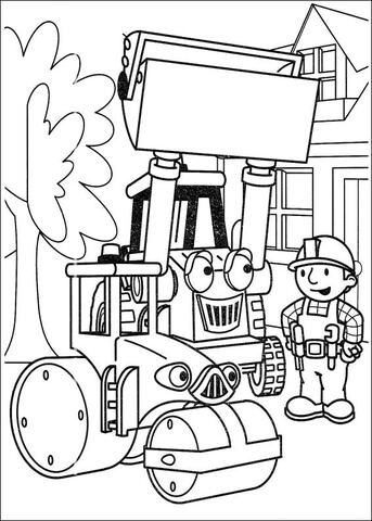 Roley And Muck Will Help Bob coloring page - Free Printable Coloring ...
