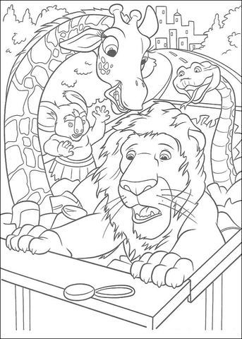 samson coloring page gretchen the monster online coloring page