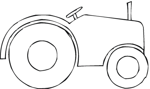 Self Propelled Roller To Make The Road  coloring page