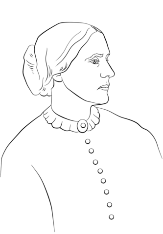 frida kahlo coloring page susan b anthony coloring page