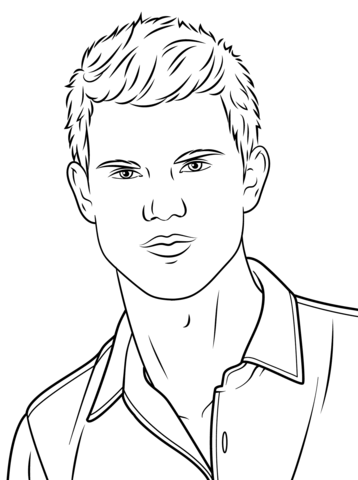 taylor swift coloring page taylor lautner coloring page