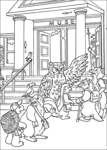 Back To School Coloring Pages  Printable Coloring eBook