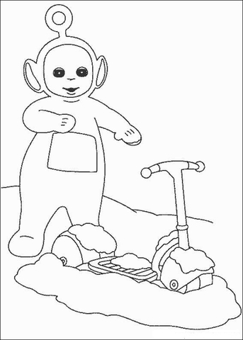 Po coloring page