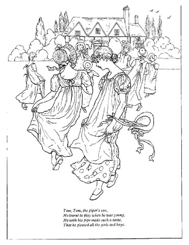 Tom Tom the Pipers Son coloring page
