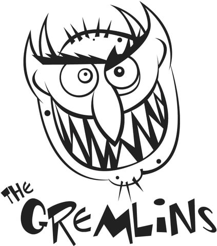The Gremlins coloring page