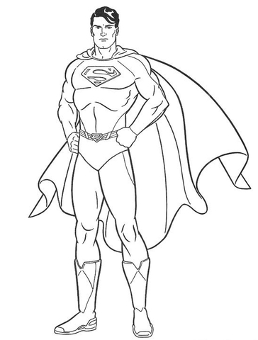 superman is coming coloring page superman coloring page