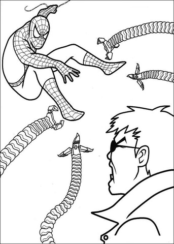 Doctor Octopus Coloring Pages - Photos Coloring Page Ncsudan.Org