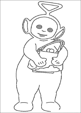 Tinky-Winky  coloring page
