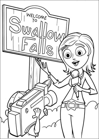 Welcome To Swallow Falls Coloring Page Free Printable Coloring Pages