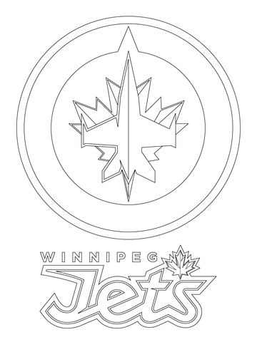 Boston Bruins Logo coloring page - Free Printable Coloring Pages