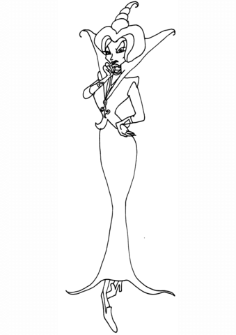 Winx Club Griffin Coloring Page