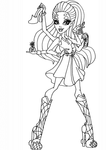 Wydowna Spider coloring page