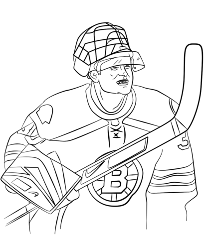 nhl logo coloring page free printable pages - Coloring Pages Hockey Players Nhl